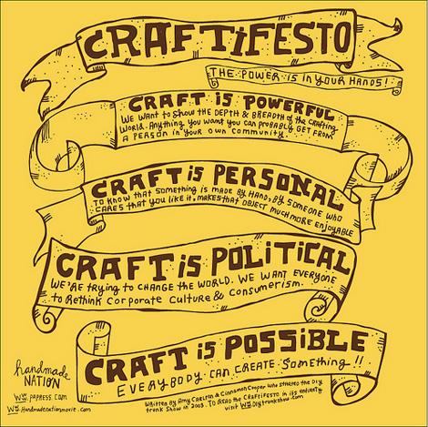 Craftifesto
