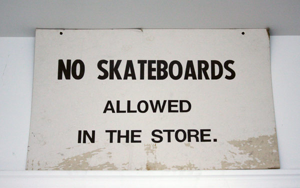 No_skateboards