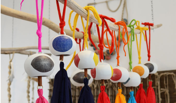 Scratch-Bells-Porcelain-Cotton-Wood-Brass-Wool